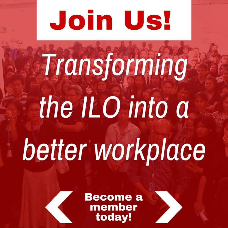 Become a Member! | ILO Staff Union