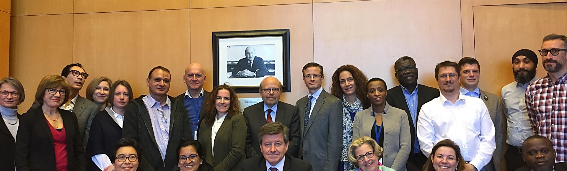 El Director General se reunió con el Comité del Sindicato del personal