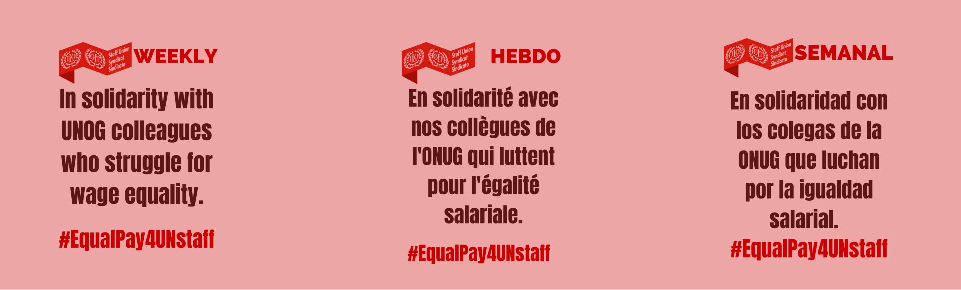En solidaridad