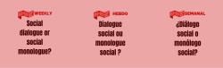 banner social dialogue